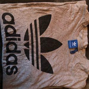 adidas large shirt